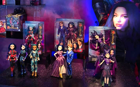 Disney Descendants 3 dolls from Toy Fair 2019