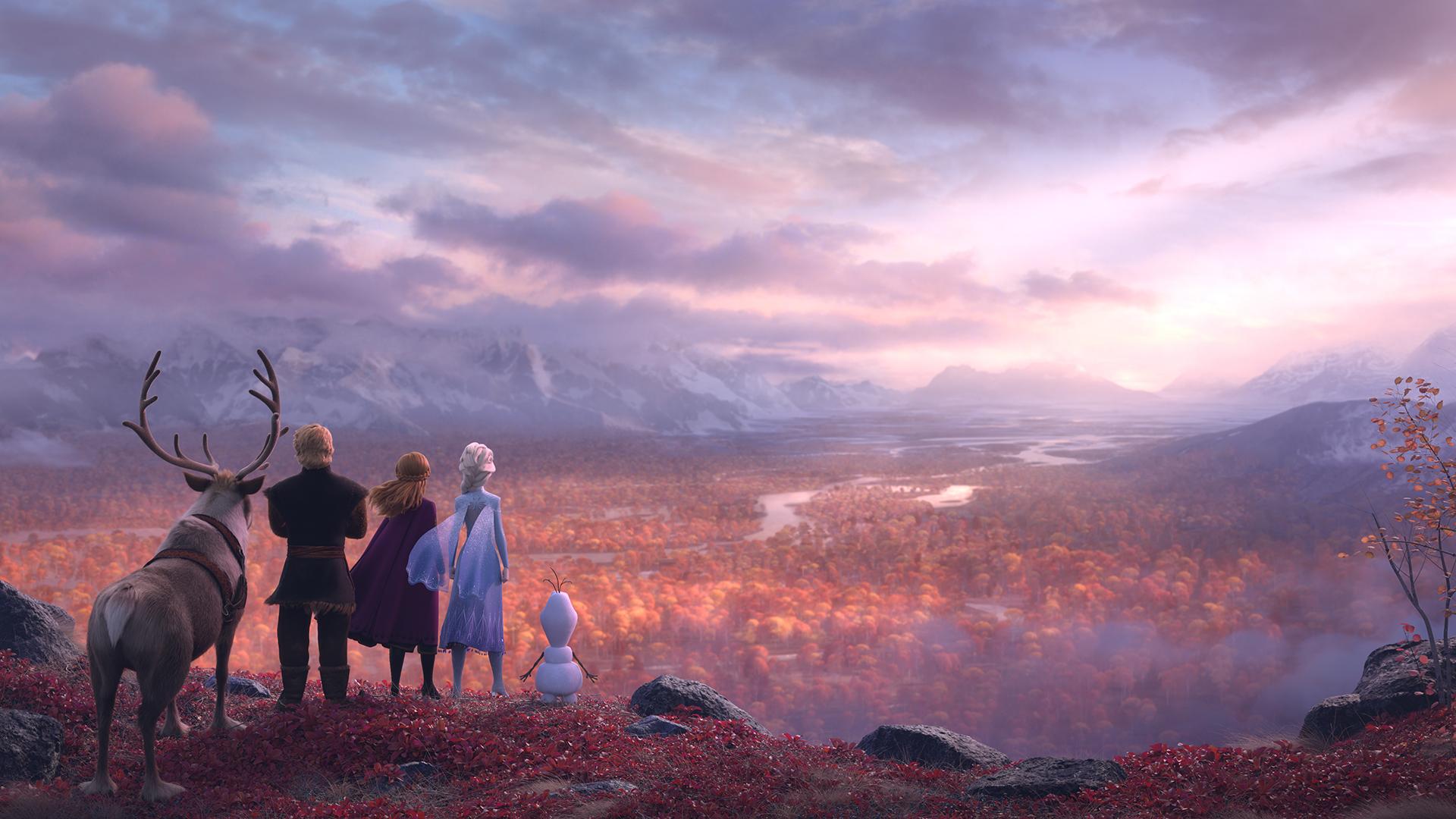 Disney Frozen 2 First Hd Wallpapers Youloveit Com