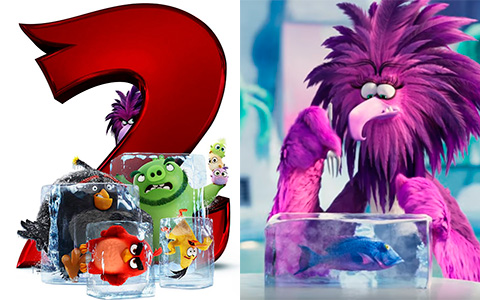 Angry Birds 2 icy first trailer and poster