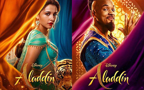 Disney Aladdin movie new character posters
