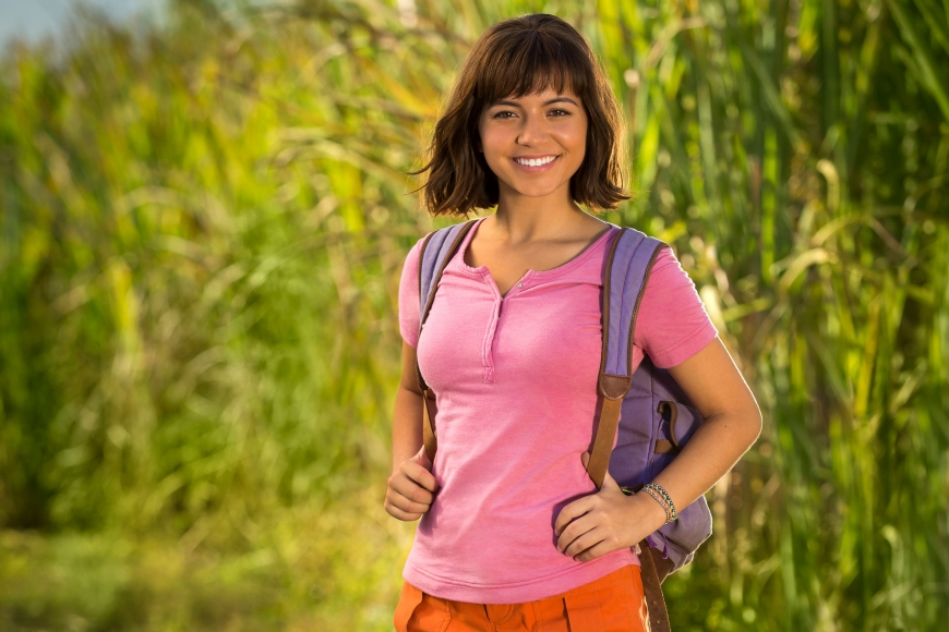 From cartoon to live-action movie - Dora the Explorer and the Lost City of Gold