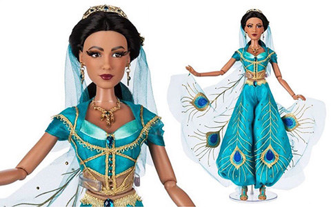 New limited edition dolls for the Disney's Aladdin movie