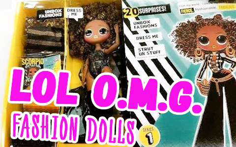 LOL Surprise releases big fashion dolls in 2019 - L.O.L. OMG collection