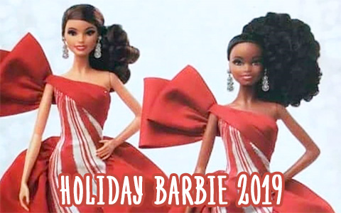 First look on new Holiday Barbie 2019