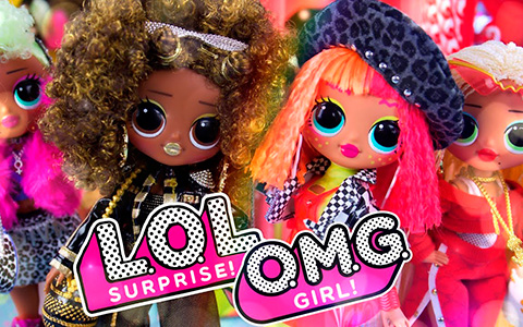 New big LOL Surprise OMG dolls unboxing - all 4 dolls in one video