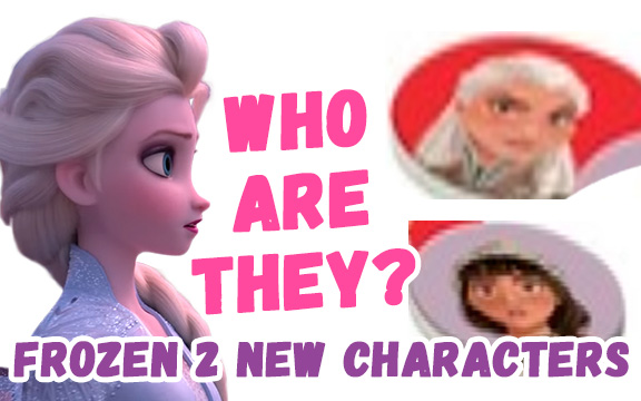 Disney Frozen 2 two new female characters and one new boy