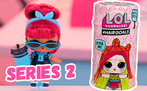 L.O.L. Surprise! #Hairgoals Makeover Series 2, about, where to get, pictures and opening video