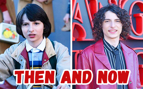 Actors of the Stranger Things then and now, compared with the first season