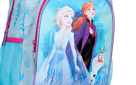 New images of Elsa and Anna from Frozen II on backpacks and school supplies
