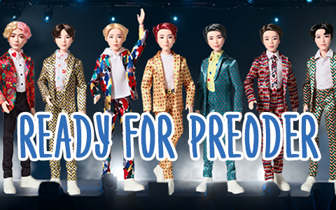 Mattel BTS dolls are out for preorder!
