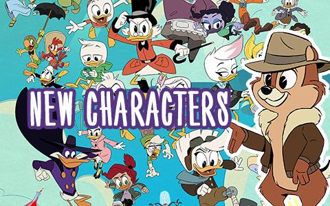 Chip 'n Dale Rescue Rangers, TaleSpin, Daisy Duck and Goofy in new DuckTales season 2 and 3 series!