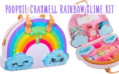 Poopsie Chasmell Rainbow Slime Kit - new cool bag from MGA