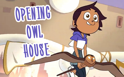 The Owl House video opening - new TV Show is coming to Disney