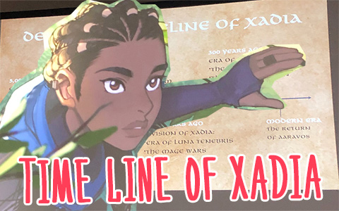 The Dragon Prince History Timeline of Xadia