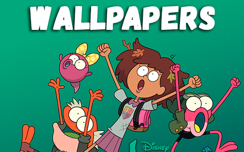 Disney Amphibia phone wallpapers