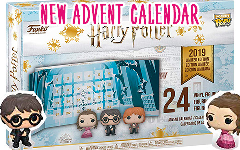New Funko POP Harry Potter Advent Calendar 2019 Limited Edition with 24 figures is ready for preoder, and on sale now!