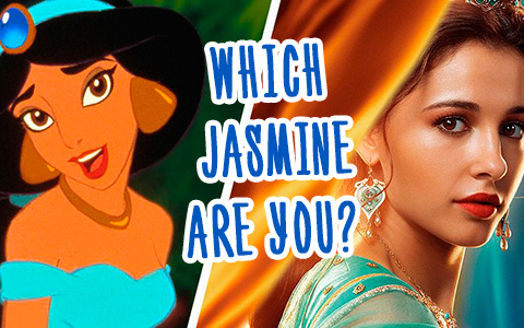 Quiz: Are you cartoon or live action Princess Jasmine from Aladdin