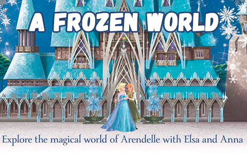 New book: A Frozen World - Features locations and characters from Frozen 2