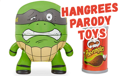 The Hangrees - new funny pop culture parody pooping slime figure toys