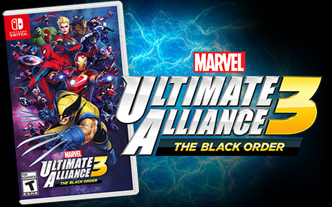 Nintendo Launches  Marvel Ultimate Alliance 3: The Black Order game exclusively for the Nintendo Switch system