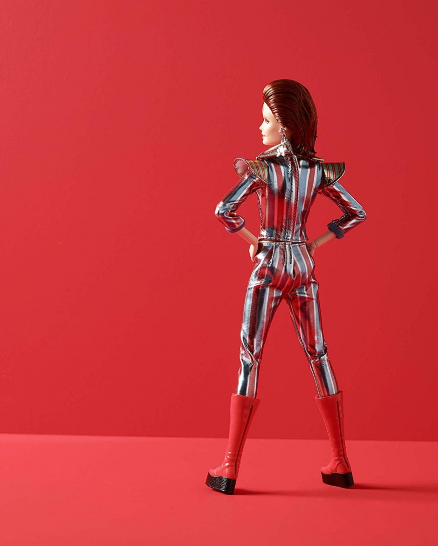 Limited edition Barbie David Bowie Doll