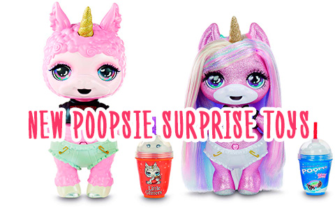New Poopsie Surprise toys are coming! Poopsie Surprise Animals Unicorn LLamas and new Poopisie Surprise sparkle Unicorns