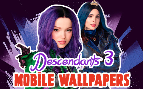 Disney Descendants 3 new mobile phone wallpapers