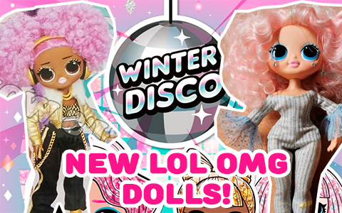 New LOL Surprise OMG Winter Disco Holiday Surprise dolls are coming! And we have spoiler about  OMG Snow Angel
