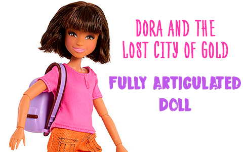 First Dora and the Lost City of Gold articulated Dora Doll