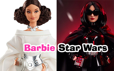 Barbie Star Wars dolls Princess Leia, Darth Vader and R2-D2 are out and they are absolutely stunning!