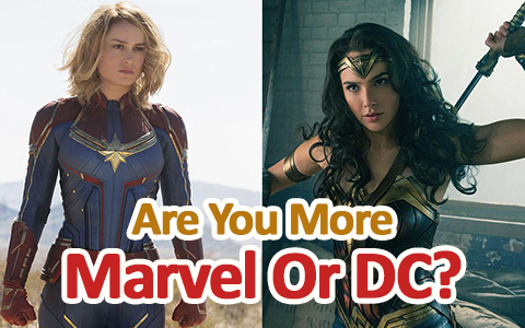 Quiz: Do I look like Marvel or DC character?