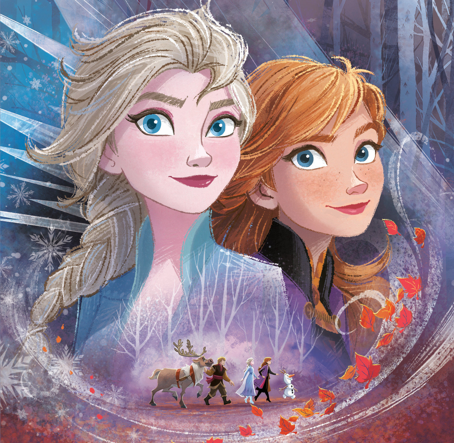 Frozen 2 New Large Pictures With Elsa Anna And Olaf Youloveit Com