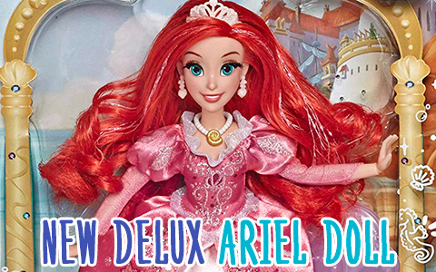 New Delux Ariel doll The Little Mermaid 30th Anniversary from Hasbro