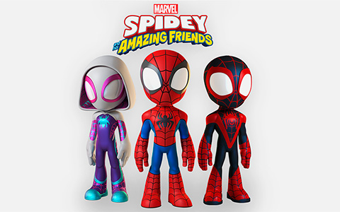Marvel's Spidey and His Amazing Friends - new tv cartoon series debut in 2021