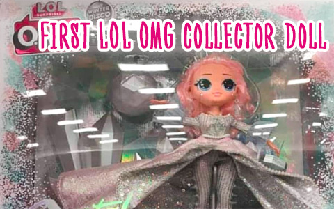 LOL OMG Winter Disco 2019 Collector edition Crystal Star doll