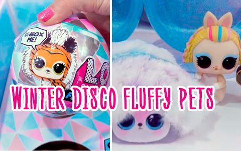 LOL Surprise Winter Disco Fluffy Pets pictures, Clubs, unboxing video and links where to get them