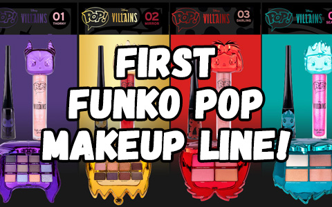 Funko releases first ever cosmetics line with POP Villains makeup