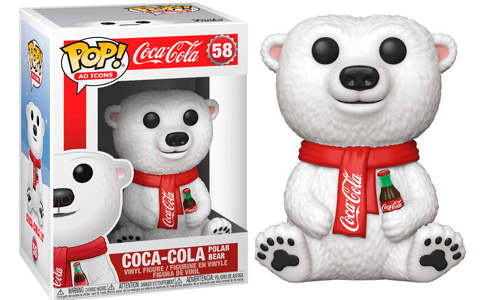 Funko will release Coca Cola Polar Bear Funko Pop!
