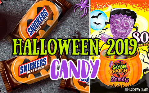 Top 10 Halloween Candy 2019