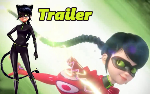Lady Noir and Mister Bug in new trailer of  Miraculous Ladybug season 3 episode Reflekdoll