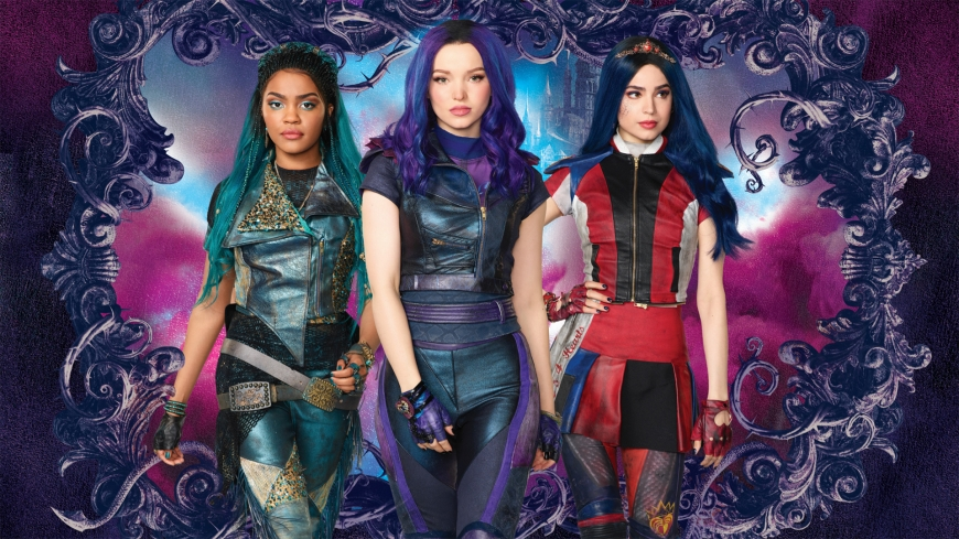 Disney Descendants 3 Evie, Mal and Uma wallpaper