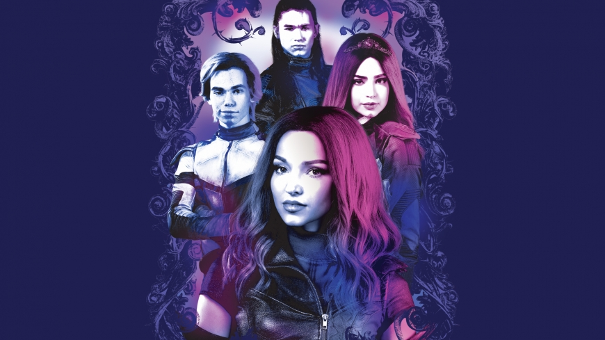 Disney Descendants 3 VK core 4 squad wallpaper