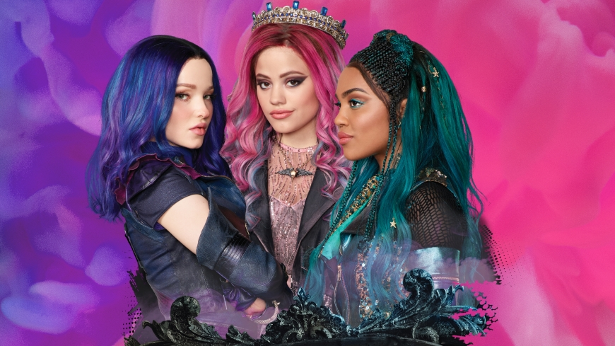 Disney Descendants 3 Audrey, Mal and Uma wallpaper