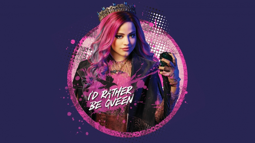 Disney Descendants 3 Audrey with scepter wallpaper
