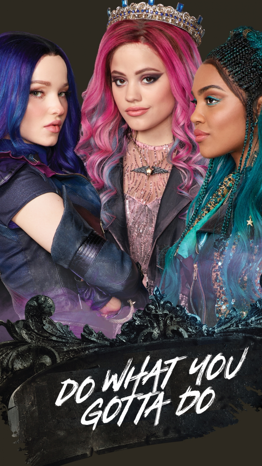 Disney Descendants 3 Mal, Audrey and Uma mobile wallpaper