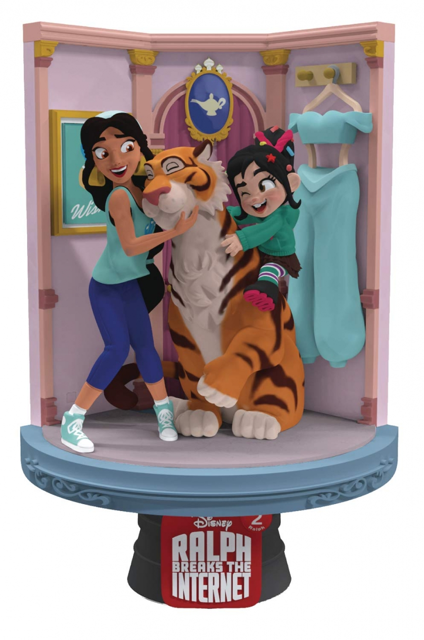 Beast Kingdom Ralph Breaks the Internet: Jasmine Ds-025 D-Stage Series Statue