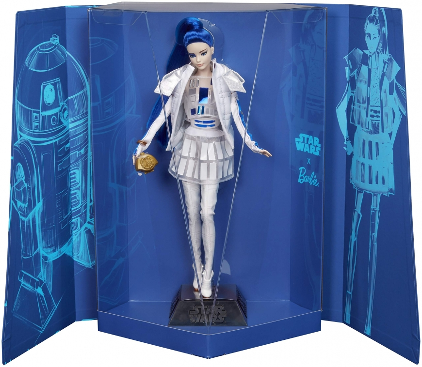 Barbie collector Star Wars R2-D2 doll 2019 photo