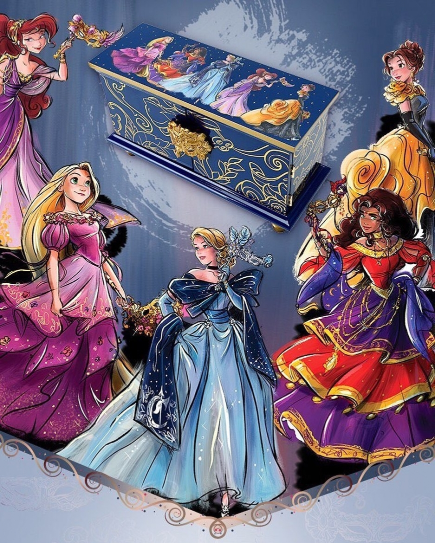 Disney Designer Collection: Midnight Masquerade Series dolls