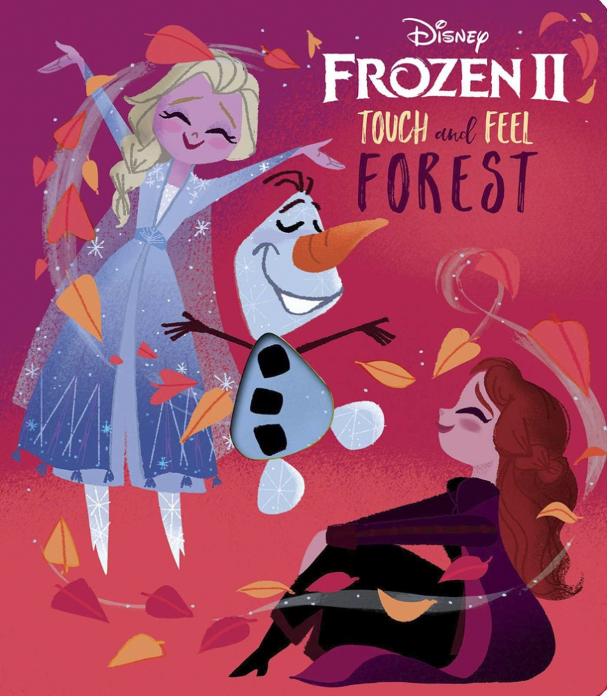 Disney Frozen 2: Touch and Feel Forest book