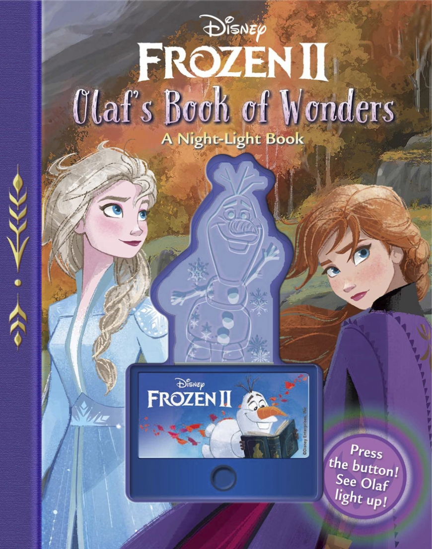 Disney Frozen 2: Olaf's Book of Wonders